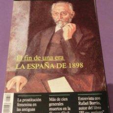 Coleccionismo de Revista Historia y Vida: HISTORIA Y VIDA Nº 358- EL FIN DE UNA ERA: LA ESPAÑA DE 1898 (EN BUEN ESTADO). Lote 133441218