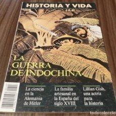 Coleccionismo de Revista Historia y Vida: HISTORIA Y VIDA Nº 303- LA GUERRA DE INDOCHINA (EN BUEN ESTADO). Lote 133442206