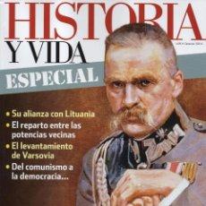Coleccionismo de Revista Historia y Vida: HISTORIA Y VIDA ESPECIAL N. 15 - EN PORTADA: POLONIA, MIL AÑOS DE HISTORIA (NUEVA). Lote 145140308