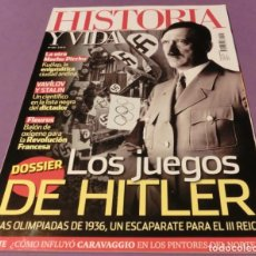 Sammeln von Zeitschriften Historia y Vida - HISTORIA Y VIDA Nº 581 LOS JUEGOS DE HITLER (COMO NUEVA) - 136563698