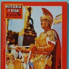 Colecionismo da Revista Historia y Vida: HISTORIA Y VIDA. EXTRA Nº 58. EL CINE HISTORICO. Lote 137115178