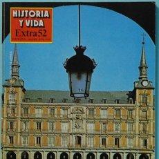 Coleccionismo de Revista Historia y Vida: HISTORIA Y VIDA. EXTRA Nº 52. MADRID. Lote 137123726