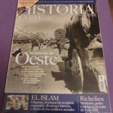 Coleccionismo de Revista Historia y Vida: HISTORIA Y VIDA Nº 404 LA CONQUISTA DEL OESTE (COMO NUEVA)...SÓLO REVISTA. Lote 146347901