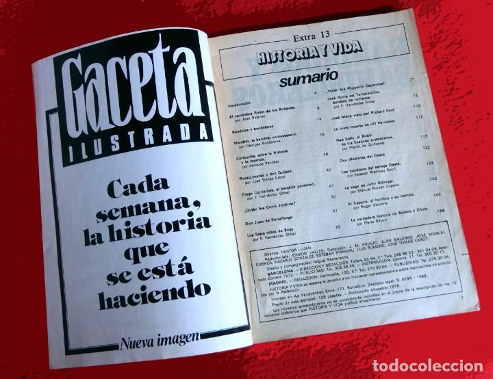 Coleccionismo de Revista Historia y Vida: HISTORIA Y VIDA, EXTRA Nº 13 - BANDIDOS Y BANDOLEROS - 1978 - Foto 3 - 137562598