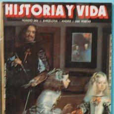 Collectionnisme de Magazine Historia y Vida: HISTORIA Y VIDA. Nº 268 - AÑO XXIII - JULIO 1990. VELAZQUEZ / LOS PAISES BALTICOS. Lote 137655726