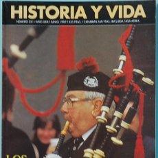 Colecionismo da Revista Historia y Vida: HISTORIA Y VIDA. Nº 351 - AÑO XXX - JUNIO 1997. LOS BORDERS ESCOCESES. Lote 137662226