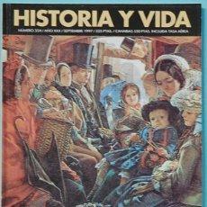 Colecionismo da Revista Historia y Vida: HISTORIA Y VIDA. Nº 354 - AÑO XXX - SEPTIEMBRE 1997. VIAJERAS VICTORIANAS. Lote 137663238