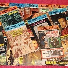 Coleccionismo de Revista Historia y Vida: LOTE DE 23 REVISTAS HISTORIA Y VIDA DEL AÑO I AL AÑO IV. Lote 139890942