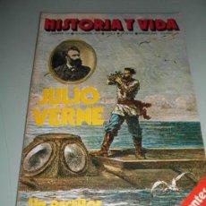 Coleccionismo de Revista Historia y Vida: JULIO VERNE UN ESCRITOR VISIONARIO DEL FUTURO. Lote 140036274