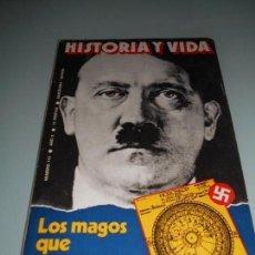Coleccionismo de Revista Historia y Vida: LOS MAGOS QUE ENGAÑARON A HITLER - HORÓSCOPO DE ADOLFO HITLER. Lote 140037390