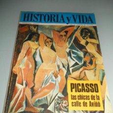Coleccionismo de Revista Historia y Vida: PICASSO LAS CHICAS DE LA CALLE AVIÑÓ - AGRESIÓN EN PEARL HARBPR. Lote 140039558