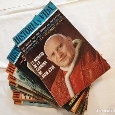 Coleccionismo de Revista Historia y Vida: LOTE REVISTAS HISTORIA Y VIDA AÑO II COMPLETO. Lote 141487982