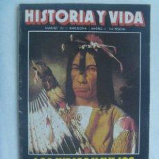 Coleccionismo de Revista Historia y Vida: HISTORIA Y VIDA , Nº 207, 1985: ESPAÑA Y LOS INDIOS NAVAJOS, GUERRA CIVIL RUSA, ETC. Lote 142085998