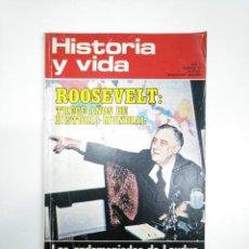 Coleccionismo de Revista Historia y Vida: HISTORIA Y VIDA NUMERO Nº 55. AÑO V. ROOSVELT. TRECE AÑOS DE HISTORIA MUNDIAL. TDKR34. Lote 145110566