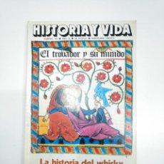 Coleccionismo de Revista Historia y Vida: HISTORIA Y VIDA NUMERO Nº 103. AÑO IX. EL TROBADOR Y SU MUNDO. LA HISTORIA DEL WHISKY. TDKR34. Lote 145111858