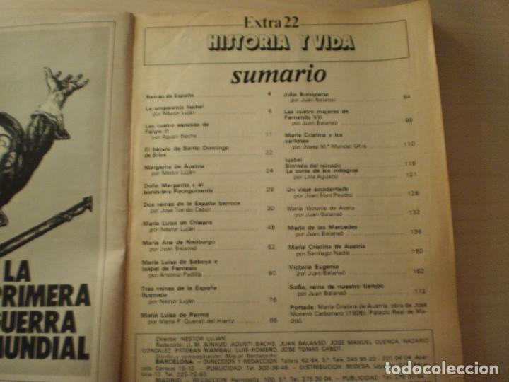 Coleccionismo de Revista Historia y Vida: Reinas de España (Historia y Vida - Extra22) Año 1981 - Foto 2 - 145638598