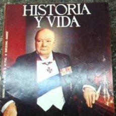 Coleccionismo de Revista Historia y Vida: REVISTA HISTORIA Y VIDA, Nº 79 OCTUBRE 1974. CHURCHILL, LA PESTE NEGRA. Lote 145872358