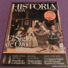 Coleccionismo de Revista Historia y Vida: HISTORIA Y VIDA Nº 398- EL SIGLO DE ORO (COMO NUEVA). Lote 147553478