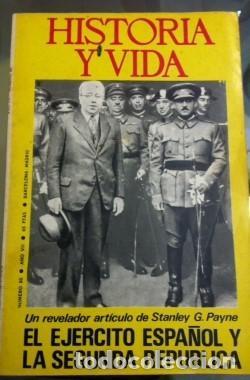 HISTORIA Y VIDA 16 80 NOVIEMRE 1984 EL EJERCITO ESPAÑOL Y LA SEGUNDA REPLUCICA (Coleccionismo - Revistas y Periódicos Modernos (a partir de 1.940) - Revista Historia y Vida)