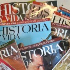 Coleccionismo de Revista Historia y Vida: BJS LOTE DE 27 HISTORIA Y VIDA. COMPLETA TU COLECCION. VER FOTOS. Lote 150105652