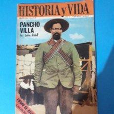 Coleccionismo de Revista Historia y Vida: REVISTA HISTORIA Y VIDA AÑO AÑO III Nº 22. PANCHO VILLA. Lote 150456646