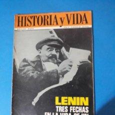 Coleccionismo de Revista Historia y Vida: REVISTA HISTORIA Y VIDA AÑO AÑO III Nº 28. LENIN. Lote 150464502