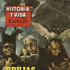 Coleccionismo de Revista Historia y Vida: REVISTA HISTORIA Y VIDA EXTRA 20 BRUJAS ASTROLOGOS Y NIGROMANTES. Lote 155999298
