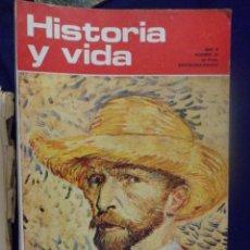 Coleccionismo de Revista Historia y Vida: REVISTA HISTORIA Y VIDA - AÑO V Nº 51 VAN GOGH - VENECIA. Lote 156633482