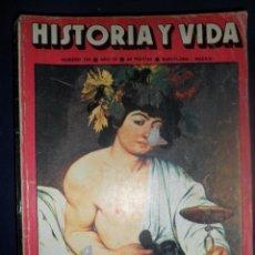 Coleccionismo de Revista Historia y Vida: REVISTA HISTORIA Y VIDA - AÑO IX Nº 105 EL VINO EN EL SIGLO DE ORO - CARLISMO CATALÁN EN 1936. Lote 156638462