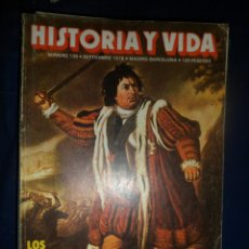 Coleccionismo de Revista Historia y Vida: REVISTA HISTORIA Y VIDA - AÑO X1I Nº 138 LOS BALLENEROS VASCOS - SHAKESPEARE Y SU OBRA. Lote 156639446