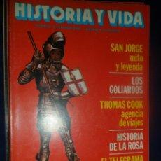 Coleccionismo de Revista Historia y Vida: REVISTA HISTORIA Y VIDA - AÑO XV Nº 169 SAN JORGE, MITO Y LEYENDA - LOS GOLIARDOS - HIROSHIMA. Lote 156640582