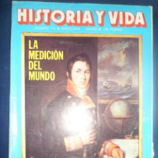 Coleccionismo de Revista Historia y Vida: REVISTA HISTORIA Y VIDA - AÑO XVI Nº 179 LA MEDICIÓN DEL MUNDO - DRUIDAS - LOPE DE VEGA. Lote 156640734