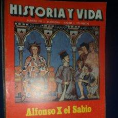 Coleccionismo de Revista Historia y Vida: REVISTA HISTORIA Y VIDA - AÑO XVII Nº 199 ALFONSO X EL SABIO - LA PESTE DEL MAR - AZAÑA. Lote 156640858