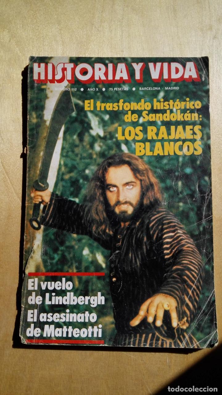 HISTORIA Y VIDA N.º 112 (Coleccionismo - Revistas y Periódicos Modernos (a partir de 1.940) - Revista Historia y Vida)