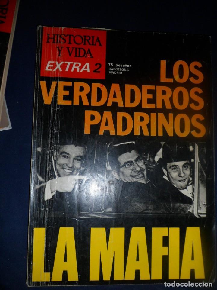 REVISTA HISTORIA Y VIDA -EXTRA Nº 2 - 1974 LOS VERDADEROS PADRINOS. LA MAFIA (Coleccionismo - Revistas y Periódicos Modernos (a partir de 1.940) - Revista Historia y Vida)
