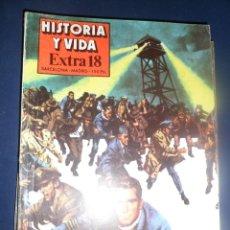Coleccionismo de Revista Historia y Vida: REVISTA HISTORIA Y VIDA -EXTRA Nº 18 - 1980 CARCELES Y EVSIONES. Lote 156823722