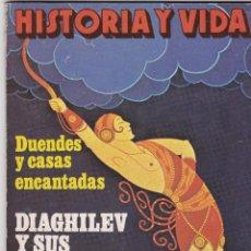 Coleccionismo de Revista Historia y Vida: REVISTA HISTORIA Y VIDA. DIAGHILEV Y SUS BALLETS RUSOS Nº 134. Lote 161239946