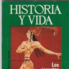 Coleccionismo de Revista Historia y Vida: REVISTA HISTORIA Y VIDA. LOS SECRETOS DEL MINOTAURO. COMO ESPAÑA PERDIÓ GIBRALTAR Nº78. Lote 161246914