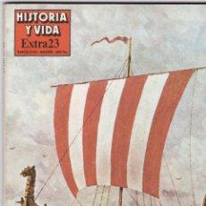 Coleccionismo de Revista Historia y Vida: REVISTA HISTORIA Y VIDA. VIAJEROS Y EXPLORADORES Nº EXTRA 23. Lote 161358326