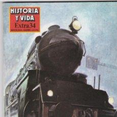 Coleccionismo de Revista Historia y Vida: REVISTA HISTORIA Y VIDA. GRANDES Y PEQUEÑOS INVENTOS Nº EXTRA 34. Lote 161358550
