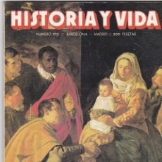 Coleccionismo de Revista Historia y Vida: REVISTA HISTORIA Y VIDA. LEYENDAS DE NAVIDAD Nº 213. Lote 161454170