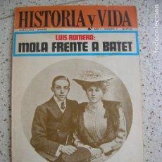 Coleccionismo de Revista Historia y Vida: REVISTA HISTORIA Y VIDA N,3 AÑO 1. Lote 162287450