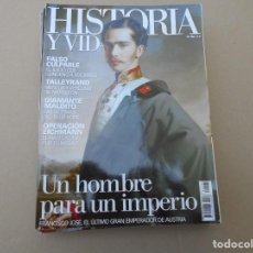 Coleccionismo de Revista Historia y Vida: HISTORIA Y VIDA. Lote 167588144