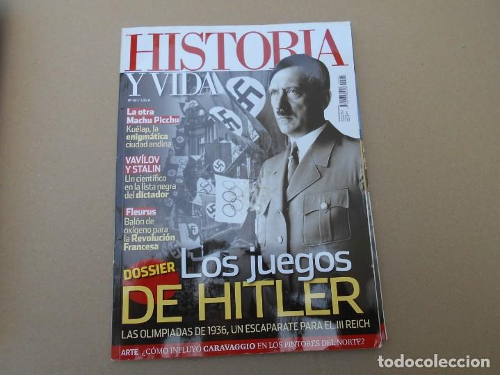 HISTORIA Y VIDA (Coleccionismo - Revistas y Periódicos Modernos (a partir de 1.940) - Revista Historia y Vida)