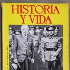 Coleccionismo de Revista Historia y Vida: HISTORIA Y VIDA. EJERCITO ESPAÑOL II REPUBLICA. GOERING. FRANZ LISZT. Lote 168096013