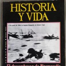 Coleccionismo de Revista Historia y Vida: HISTORIA Y VIDA 81. LOS KENNEDY Y LA GUERRA CIVIL. DESEMBARCA NORMANDIA. RESTAURACIÓN. Lote 168096562