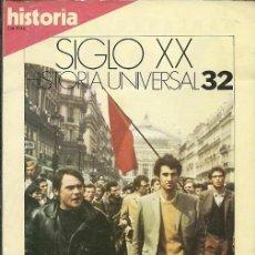 Coleccionismo de Revista Historia y Vida: REVISTA HISTORIA SIGLO XX HISTORIA UNIVERSAL 32 EL MAYO FRANCES LA CRISIS DE 1968. Lote 168512920