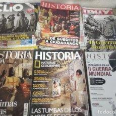 Coleccionismo de Revista Historia y Vida: LOTE DE 28 REVISTAS DE HISTORIA (LEER DESCRIPCIÓN). Lote 169124068