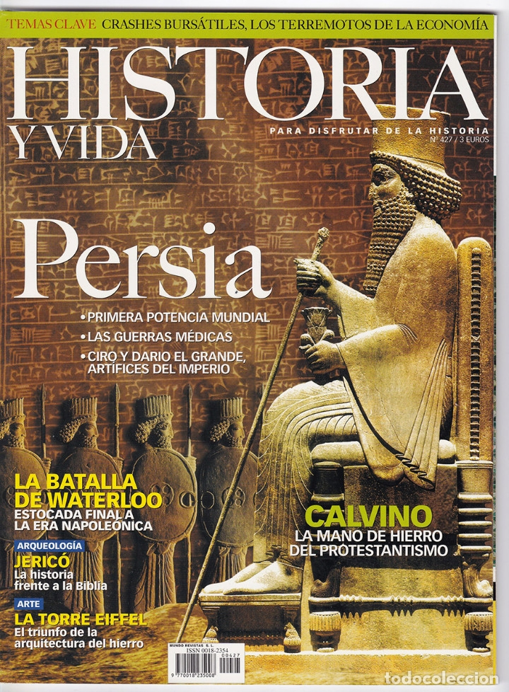 HISTORIA Y VIDA Nº 427 (Coleccionismo - Revistas y Periódicos Modernos (a partir de 1.940) - Revista Historia y Vida)