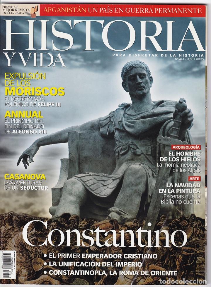 HISTORIA Y VIDA Nº 441 (Coleccionismo - Revistas y Periódicos Modernos (a partir de 1.940) - Revista Historia y Vida)